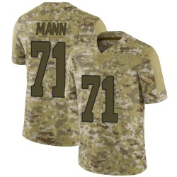 Nike Charles Mann Washington Redskins Youth Limited Camo 2018 Salute to Service Jersey