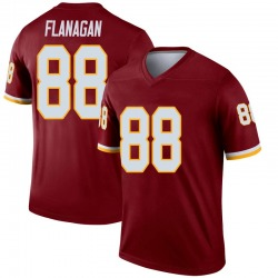 Nike Matt Flanagan Washington Redskins Men's Legend Burgundy Jersey