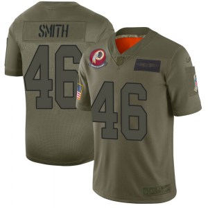 Nike Maurice Smith Washington Redskins Men's Limited Camo 2019 Salute to Service Jersey