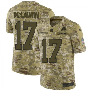 Nike Terry McLaurin Washington Redskins Youth Limited Camo 2018 Salute to Service Jersey