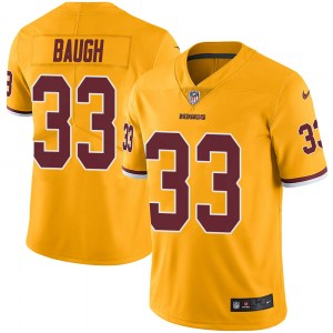 Nike Sammy Baugh Washington Redskins Youth Limited Gold Color Rush Jersey