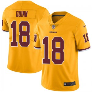 Nike Trey Quinn Washington Redskins Men's Limited Gold Color Rush Jersey