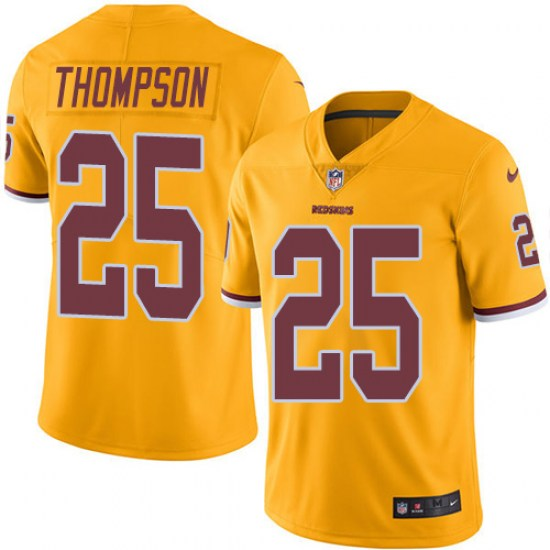 official photos 7235f 21753 Nike Chris Thompson Washington Redskins Youth Limited Gold Color Rush Jersey